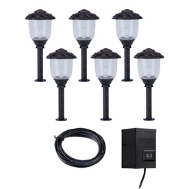 Portfolio Bronze Path Light Kit