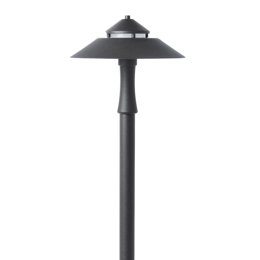 Shop portfolio specialty bronze low voltage 6 4 watt 20 w for Low voltage walkway lighting sets