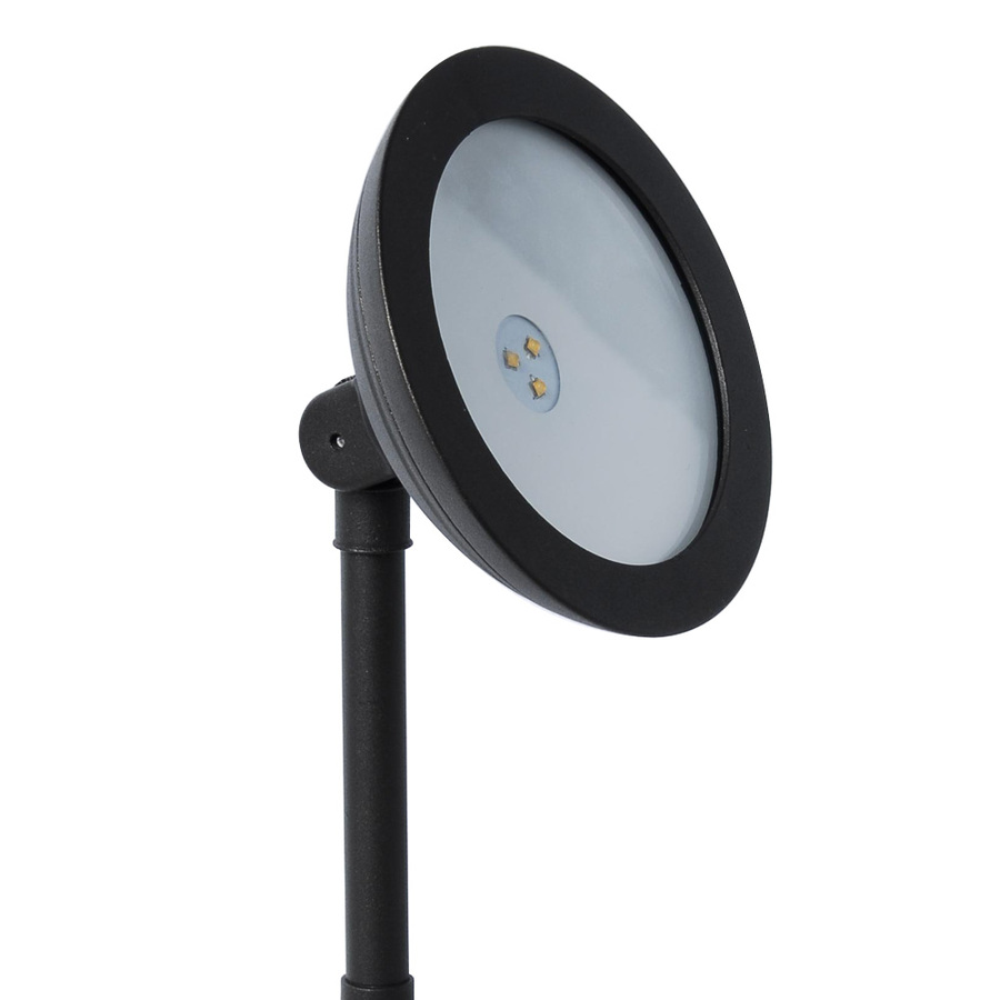 shop portfolio led plug in landscape flood light at. Black Bedroom Furniture Sets. Home Design Ideas