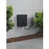 Portfolio 120-Watt 12-Volt Multi-Tap Landscape Lighting Transformer with Digital Timer and Dusk-to-Dawn Sensor