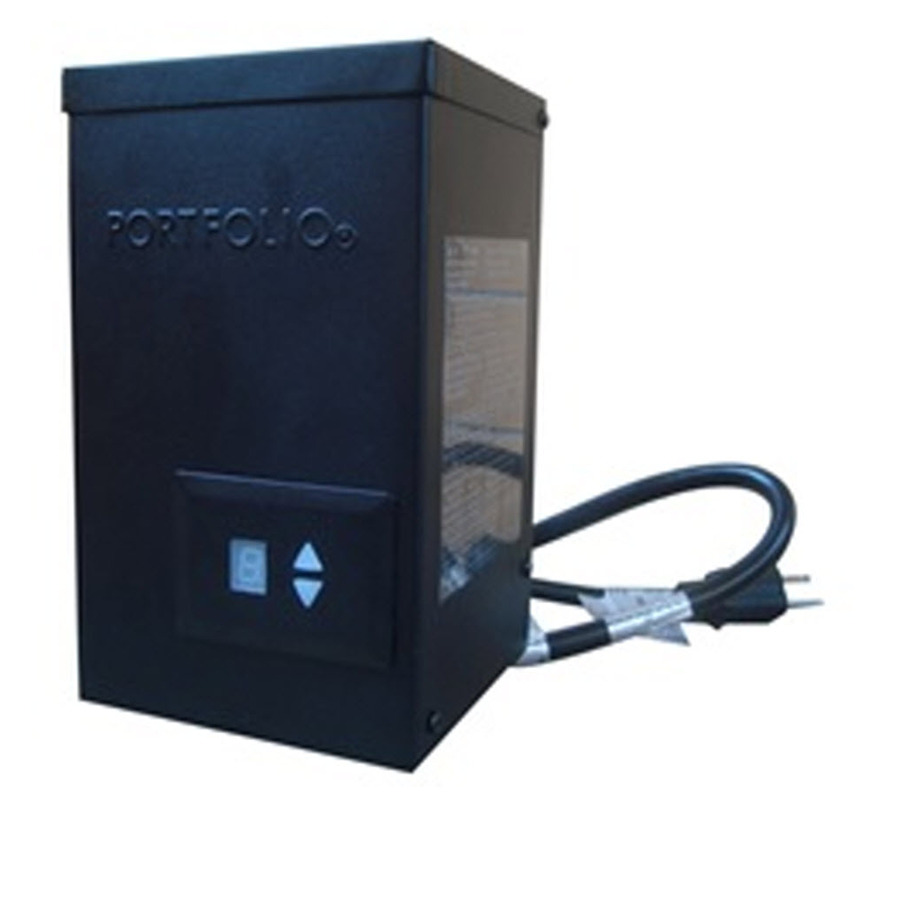 shop portfolio 300 watt 14 volts multi tap transformer landscape. Black Bedroom Furniture Sets. Home Design Ideas
