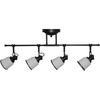 allen + roth Northroe 4-Light LED Fixed Track Light Kit