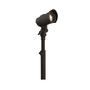 Portfolio 4-Watt (20W Equivalent) Specialty Textured Bronze Low Voltage LED Spot Light