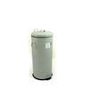 Bentley English Heritage 30-Liter Duck Egg Blue/Green Trash Can