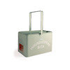 Bentley English Heritage Houskeeper's Box 10.8-in W x 8.5-in H x 8.5-in D Duck Egg Steel Bin