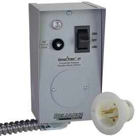 Reliance Furnace Transfer Switch TF151W