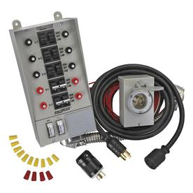 Reliance 10-Circuit Transfer Switch Kit with 30-Amp Inlet Box