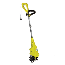 Shop sun joe 2 5 amp 6 in corded electric cultivator at for Best small garden cultivator