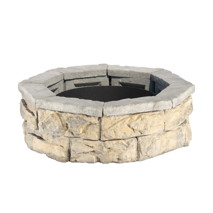 Shop Fire Pit Patio Block Project Kit At