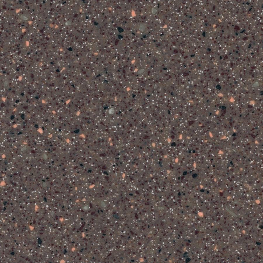 Shop lg hi macs allspice quartz solid surface kitchen countertop