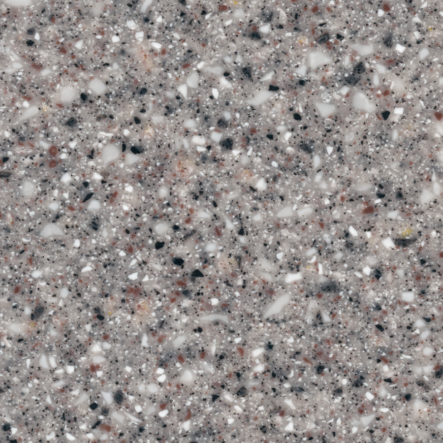 Granite Countertop Samples : ... MACS Gray Granite Solid Surface Kitchen Countertop Sample at Lowes.com