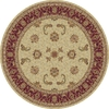 Art Carpet 6-ft 7-in x 6-ft 7-in Round Beige Transitional Area Rug