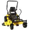 Stanley 24-HP V-Twin Dual Hydrostatic 54-in Zero-Turn Radius Lawn Mower with Kawasaki Engine