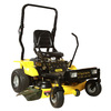 Stanley 20-HP V-Twin Dual Hydrostatic 48-in Zero-Turn Radius Lawn Mower with Kawasaki Engine