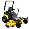 Stanley 31-HP V-Twin Dual Hydrostatic 62-in Zero-Turn Radius Lawn Mower with Kawasaki Engine
