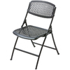 Flex-One Black Steel Folding Camping Chair