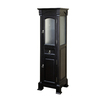 Bellaterra Home 18-in W x 65-in H x 16.3-in D Espresso Birch Freestanding Linen Cabinet