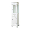 Bellaterra Home 18-in W x 65-in H x 16.3-in D White Birch Freestanding Linen Cabinet