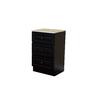 Bellaterra Home 20-in W x 33-in H x 18-in D Dark Mahogany Birch Freestanding Linen Cabinet