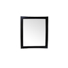 Bellaterra Home 36-in W x 42-in H Dark Mahogany Rectangular Bathroom Mirror