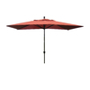 Escada Designs Rectangular Patio Umbrella with Crank (Common: 120-in x 72-in; Actual: 120-in x 72-in)