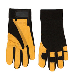 Blue Hawk Medium Unisex Leather High Performance Gloves