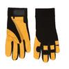 Blue Hawk Medium Unisex Leather Palm High Performance Gloves