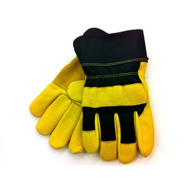 Blue Hawk X-Large Unisex Leather Work Gloves