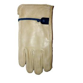 Blue Hawk Medium Unisex Leather Palm Work Gloves