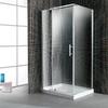 Ove Decors 40-in Frameless Pivot Shower Door