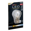 Utilitech Pro 4.5-Watt (25W Equivalent) 2,700K Medium Base (E-26) Warm White Dimmable Decorative LED Light Bulb