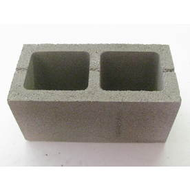 Louisiana Cement Products, Inc. 8-in x 8-in x 16-in Light Weight Block