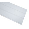 SteelLinx 12-in x 12-ft Soft White Vented Soffit