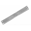 AQVA 2-in Dia Stainless Steel Linear Shower Drain