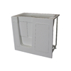Total Care in Bathing White Gelcoat/Fiberglass Rectangular Walk-in Bathtub with Left-Hand Drain (Common: 26-in x 46-in; Actual: 40-in x 26-in x 45-in