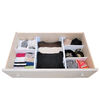 Style Selections 2.625-in x 20.3-in Plastic Multi-Use Insert Drawer Organizer