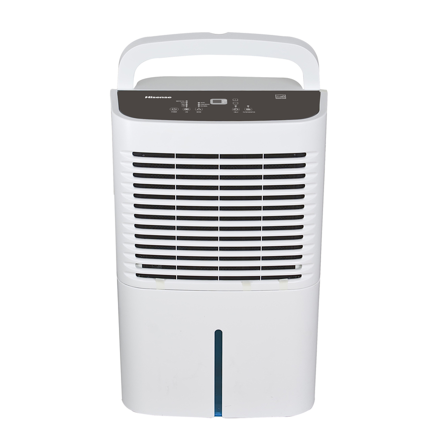 shop hisense 70 pint 2 speed dehumidifier energy star at