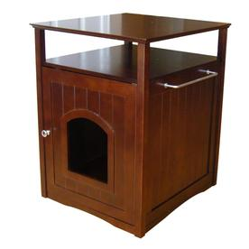 Merry Pet Walnut Hooded Litter Box