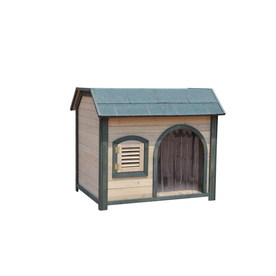 Merry Pet Medium Wood Dog House