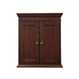 bathroom wall cabinet allen roth rosemere 24 in w x 28 in h x 7 in d