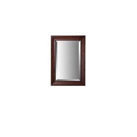 allen + roth Rosemere 25-in W x 36-in H Auburn Rectangular Bathroom Mirror