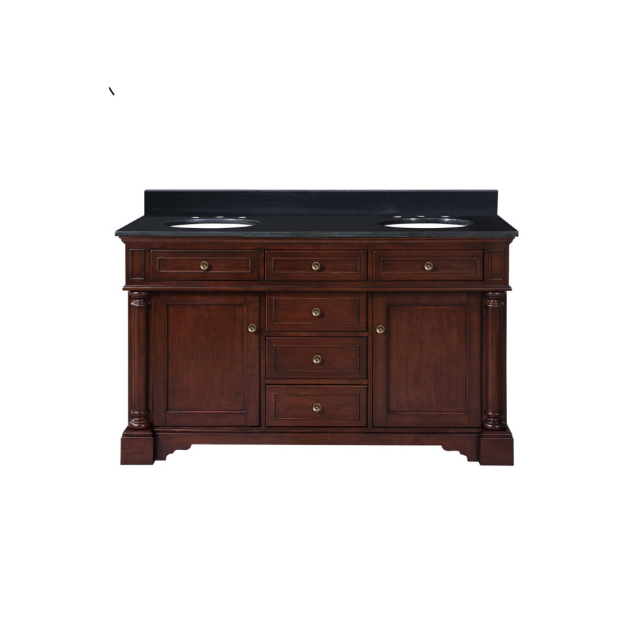 Shop allen + roth Auburn Bathroom Vanity with Top at Lowes.com