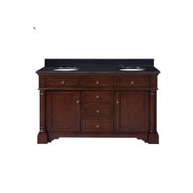 allen + roth Auburn Double Sink Bathroom Vanity with Top
