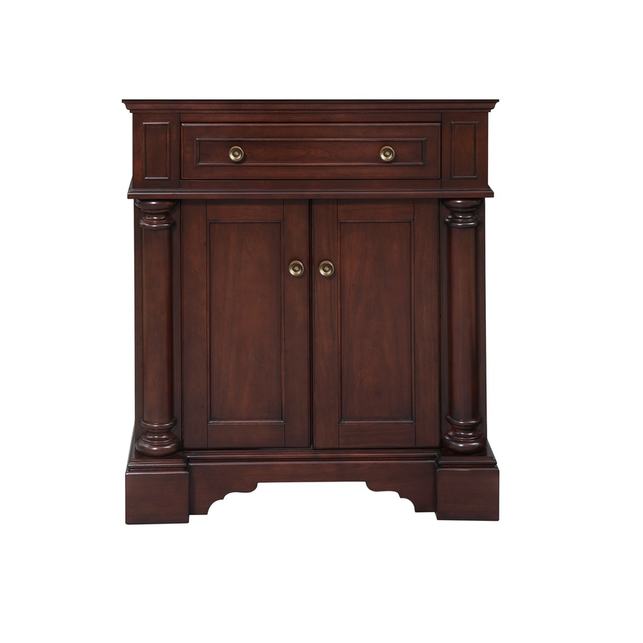Shop Allen Roth Rosemere Auburn Traditional Bathroom