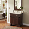allen + roth Rosemere Auburn Traditional Bathroom Vanity (Common: 30-in x 21-in; Actual: 30-in x 21.5-in)
