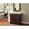 allen + roth Rosemere Auburn Traditional Bathroom Vanity (Common: 36-in x 21-in; Actual: 36-in x 21.5-in)