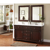 allen + roth Rosemere Auburn Traditional Bathroom Vanity (Common: 60-in x 21-in; Actual: 60-in x 21.5-in)
