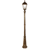 Gama Sonic Royal 87-in H Weathered Bronze Solar LED Post Light