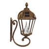 Gama Sonic Royal 21-in H LED Weathered Bronze Solar Outdoor Wall Light