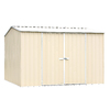 ABSCO Premier Shed Galvanized Steel Storage Shed (Common: 10-ft x 10-ft; Interior Dimensions: 9.68-ft x 9.68-ft)